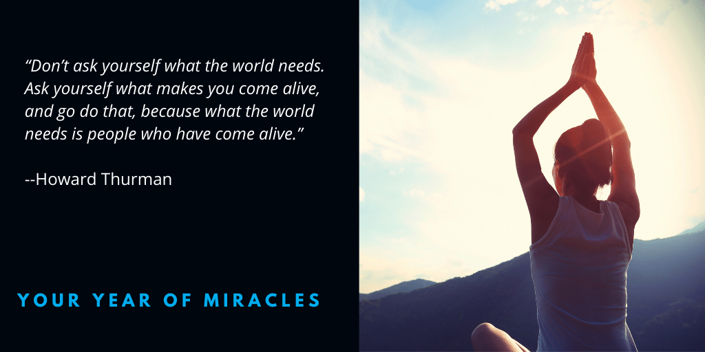 How to Help the World Through Getting in the Miracle Zone